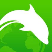 App Icon: Dolphin browser für das iPad – eine stabile Erweiterung mit Ad-Block System, und sicher Suchfunktion im Internet 9.8.2