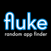 App Icon: fluke - random app finder 2.0