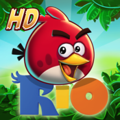 App Icon: Angry Birds Rio HD 2.1.0