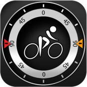 App Icon: Bike CycloComputer HUD - gps, odometer, altimeter, inclinometer and maps computer for your bike 1.9