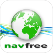 App Icon: Navfree GPS Schweden + Street View 2.1.13