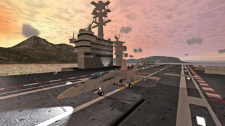 Screenshot von F18 Carrier Landing II
